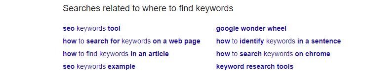 谷歌规划师选词工具