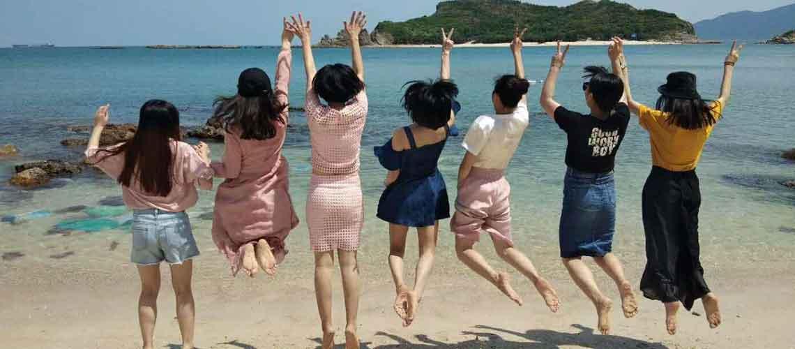聚米四周年庆旅游